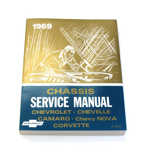 1969 Camaro Chevrolet Service Manual