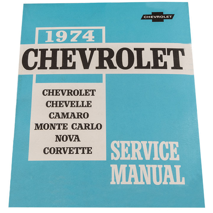 1974 Nova Chevrolet Service Manual