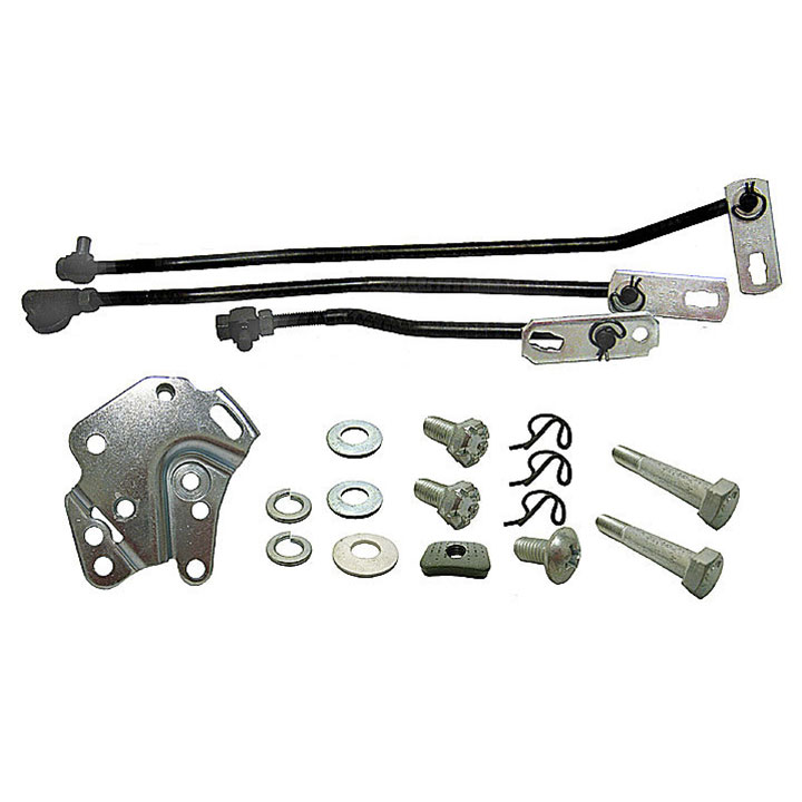 1969 Camaro Small Block Hurst 4 Speed Shifter Linkage Kit: HURST-69SB