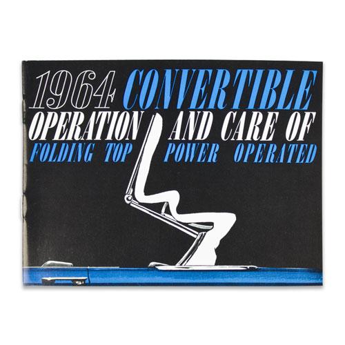1964 Chevelle Convertible Top Manual