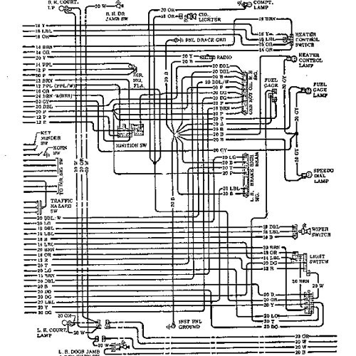 HWD 64A 71 chevelle wiring harness diagram wiring diagrams for diy car 1963 Nova Wiring Diagram at alyssarenee.co