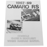 1967-1969 Camaro Rally Sport RS Wiring Diagram