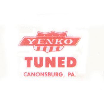 1969 Camaro Yenko Window Decal