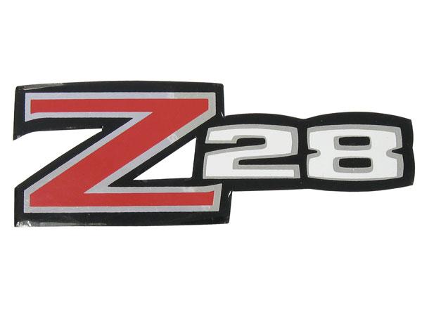 1970-1973 Camaro Z/28 Rear Spoiler Decal