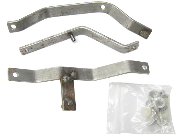1966-1967 El Camino Heater Control Lever Set, without Air Conditioning