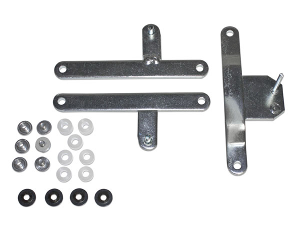 1968-1969 Chevelle Heater Control Lever Set, without Air Conditioning