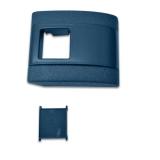 1967-1972 Nova Plastic Standard Seat Belt Cover Blue