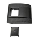 1967-1972 Chevelle Plastic Standard Seat Belt Cover Black
