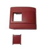 1967-1972 Chevelle Plastic Standard Seat Belt Cover Red
