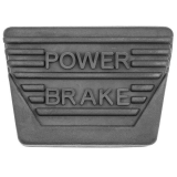 1962-1967 Chevrolet Power Brake Pedal Pad Manual