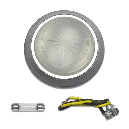 1971-1979 Nova Dome Light Lens And Bezel Kit