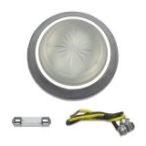 1970-1981 Camaro Dome Light Lens And Bezel Kit