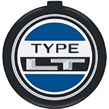 1973-1978 Chevrolet Type LT Horn Cap Emblem