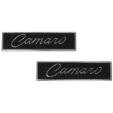 1968-1969 Camaro Standard Door Panel Emblems