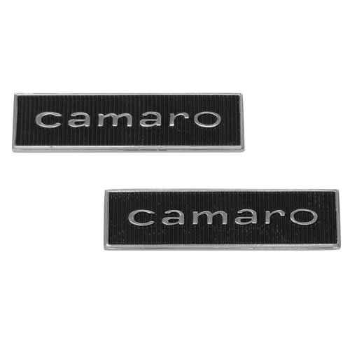 1967 Camaro Standard Door Panel Emblems