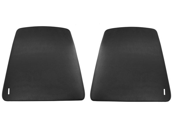 1967-1970 Camaro Bucket Seat Backs In Black