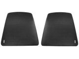 1967-1970 Camaro Bucket Seat Backs In Black