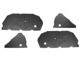 1968-1969 Chevrolet Coupe Door Panel Water Shield Set