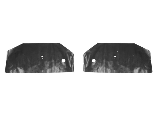 1968-1969 Camaro Convertible Door Panel Water Shield Set