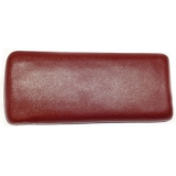 1973-1981 Camaro Padded Console Door Assembly Carmine Red
