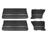 1965 Chevelle Coupe Door Panel Kit Black