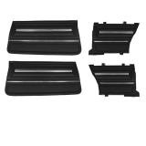 1966 Chevelle Coupe Door Panel Kit Black