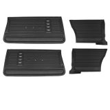 1967 Chevelle Coupe Door Panel Kit Black