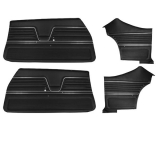 1969 Chevelle Coupe Door Panel Kit Black