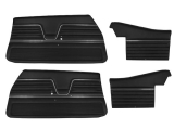 1969 Chevelle Convertible Door Panel Kit Black