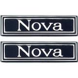1969-1972 Nova Door Panel Emblems