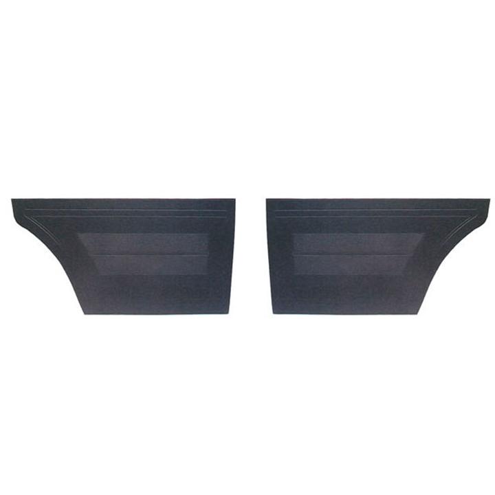 1964 Chevy Ii Nova Interior Kit Bench Seat Hardtop Black