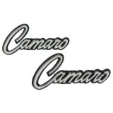 1968-1969 Camaro Deluxe Door Panel Emblems