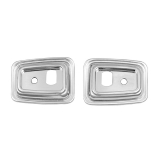 1968-1969 Camaro Deluxe Door Panel Grab Handle Bezels
