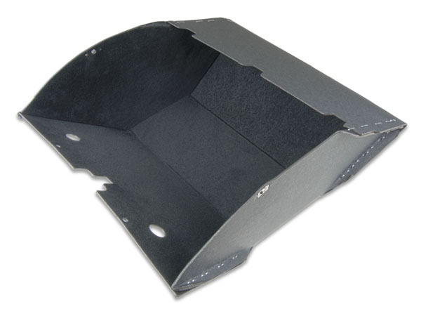 1968-1969 El Camino Glove Box Without Air Conditioning