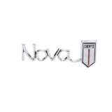 1966 Nova Chevy Ii Glove Box Emblem