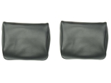 1968-1972 Chevrolet Headrest Covers, Buckets, Black 10