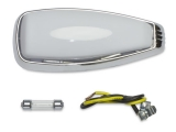 1967-1969 Camaro Dome Light Lens And Bezel Kit