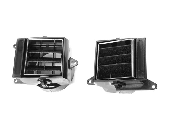 1971-1972 Chevelle Dash Side Air Vent Assembly