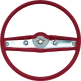 1969-1970 Nova Standard Steering Wheel Red