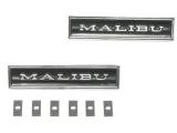 1970-1972 Chevrolet Malibu Door Panel Emblems