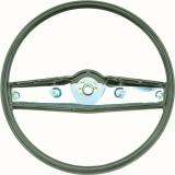 1969-1970 Nova Standard Steering Wheel Dark Green