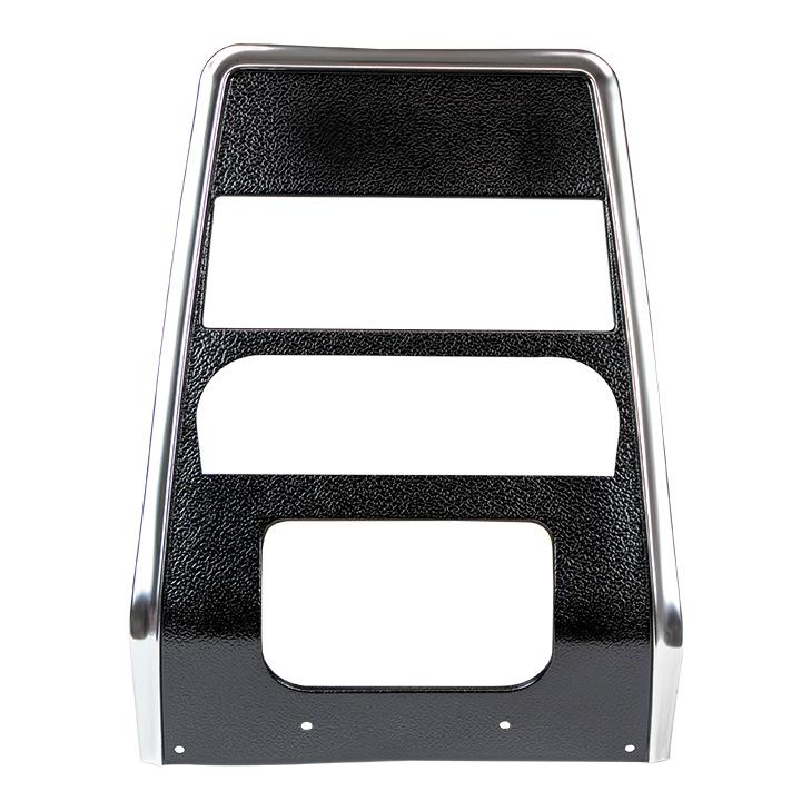 1967-1968 Camaro Center Dash Panel Black Non-AC