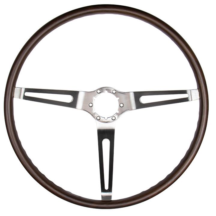 1967-1968 Camaro Walnut Sport Steering Wheel, GM 9746195