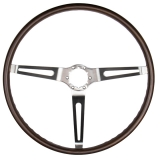 1968 Nova Walnut Sport Steering Wheel, GM 9746195