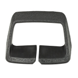 1973-1981 Camaro Seat Belt Loop Guide Rectangle Black