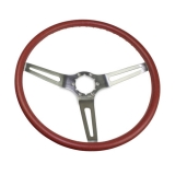 1969-1974 Nova Red Comfort Grip Sport Steering Wheel