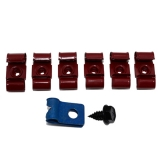 1964-1967 El Camino Fuel Line Clip Kit 7 PC (No Return)