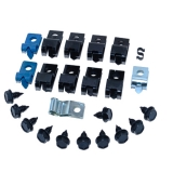 1971-1973 Camaro Brake Line Clip Kit 25 PC