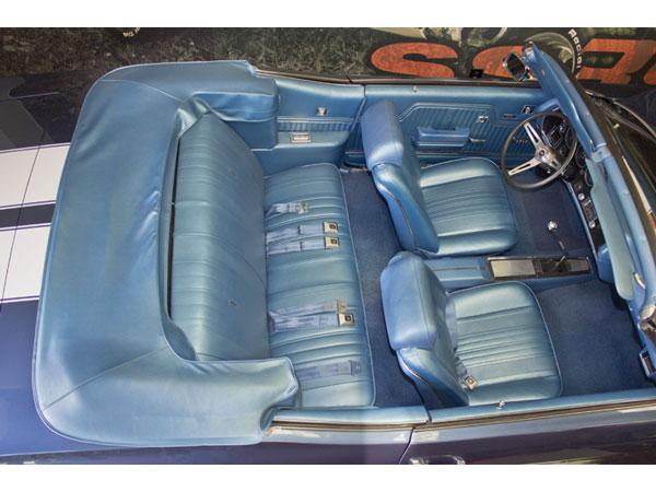 1969 chevrolet coupe super interior kit for bucket seats black. Black Bedroom Furniture Sets. Home Design Ideas