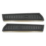 1973-1975 Camaro Standard Front Door Panels, Black M10